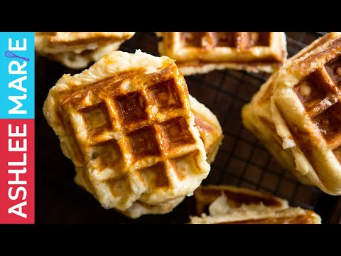 How to make traditional liege waffles