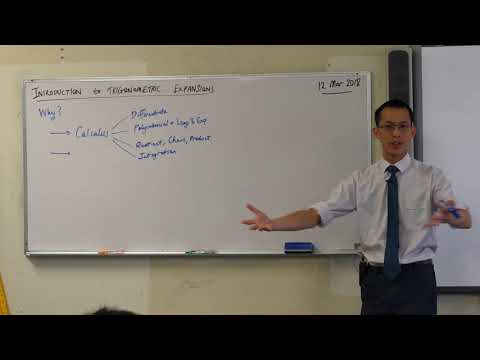 Introduction to Trigonometric Expansions (1 of 3: Why do they matter?)