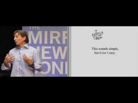 The 2010 Mirren New Business Conference, Alex Bogusky Video 3 of 6