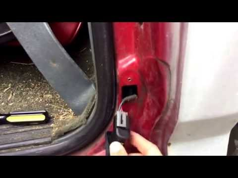 Car Door Chimer / Buzzer & Dome Light Fix - Check and Replace the Door Jamb Switch  @GettinJunkDone