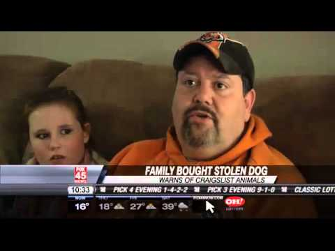 Family Reacts to Buying Stolen Dog on Craigslist