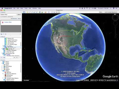 Google Earth Tutorials--Add Folders and Subfolders