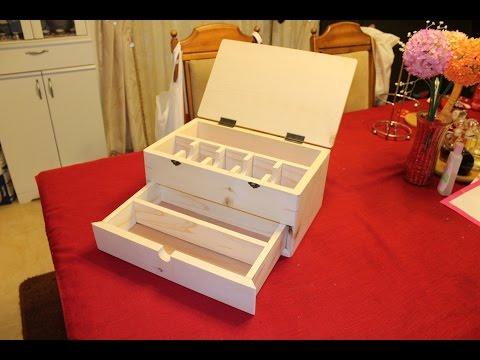 Building a Magic Card Storage Box