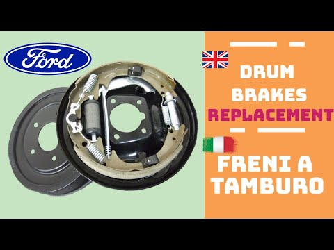 Drum Brakes Replacement - Sostituzione Freni a Tamburo Ford Fiesta 1.2 2010