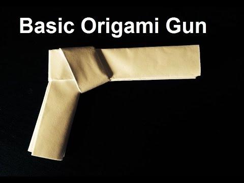 How to make a Basic Paper gun