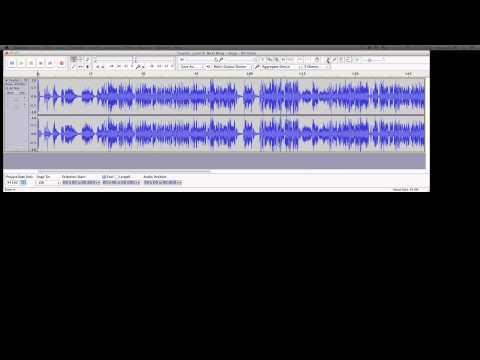 How To: Make DJ Drops For Serato/Traktor In Audacity