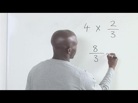 How To Do Fraction And Whole Number Multiplication