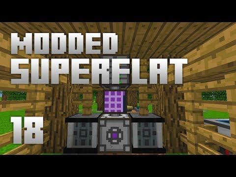 ►Modded Superflat - APPLIED ENERGISTICS!   Ep. 18   Modded Minecraft Survival◄