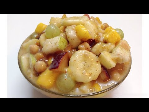 Khatti Meethi Fruit Chaat - Sweet and Sour Fruit Chaat Recipe || Ramadan Special Recipe for Iftar