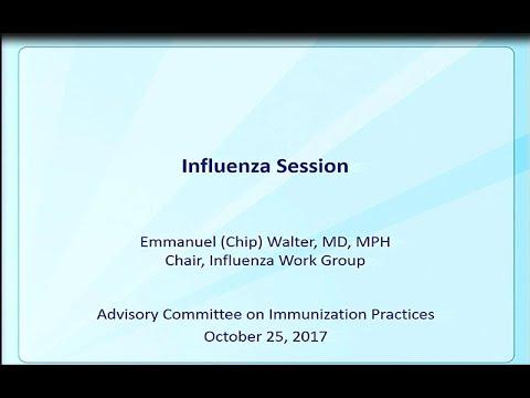 October 2017 ACIP Meeting - Influenza Vaccines