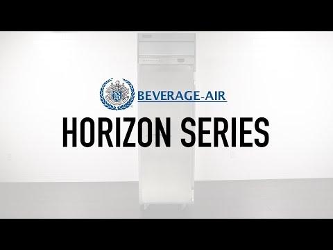 Beverage-Air Horizon Series Reach-In Refrigerators