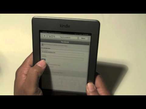Kindle Touch: How to Share Quotes on Facebook & Twitter | H2TechVideos