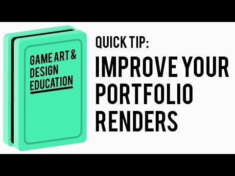 Improve your portfolio renders - Better renders in under 10 secs