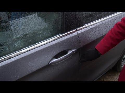 Removing ice from your frozen vehicle