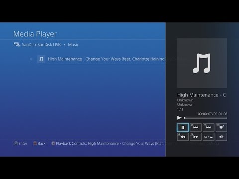 How To Put Music On PS4 (EASY TUTORIAL) 2018