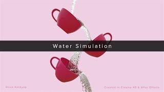 Water Simulation | Cinema 4D | Realflow