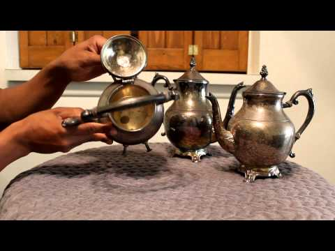 Vintage Fb Rogers Silver Tea Pot Review