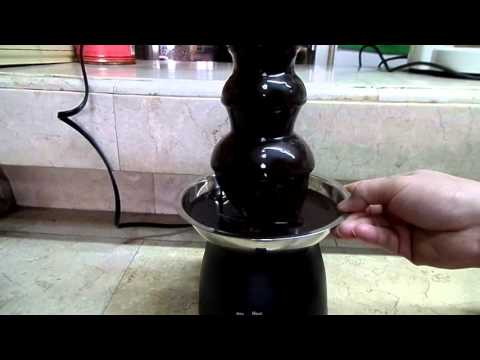 how to use your chocolate fountain