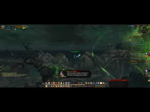 Unlocked Legion Flying mode early