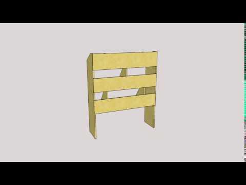 Wooden Van Racking (Sketchup)