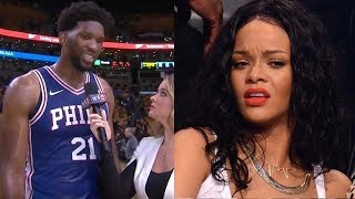 Joel Embiid Straight DISSES Rihanna Now That He