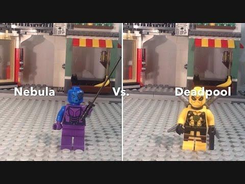 Lego Deadpool Vs Nebula