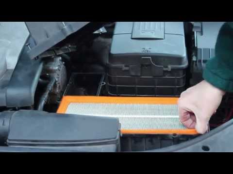 VW Passat How to Change Air filter - Fitting Replacement Filter B6 2005-2010
