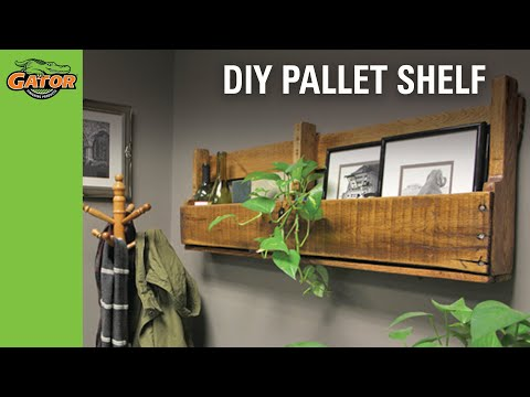 Project DiY - Pallet Shelf Project