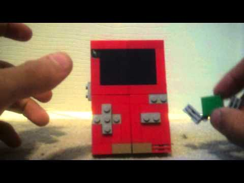 Lego gameboy color transformer, a custom creation