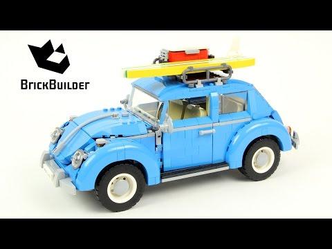 Lego Creator 10252 Volkswagen Beetle - Lego Speed Build