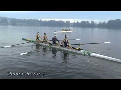 Rowing roll up exercise