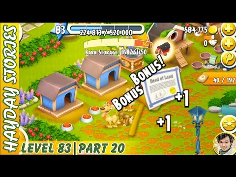 Get More Land Material Items From Feeding Dogs in Hay Day Level 83 | Part 20 - Freedom Farm