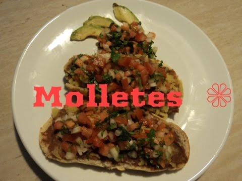 Mexican Bruschetta - Molletes