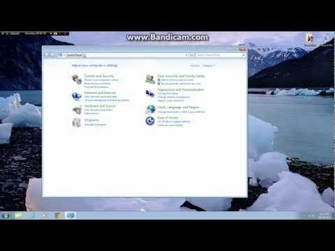 How to restore to Factory settings on Windows 7