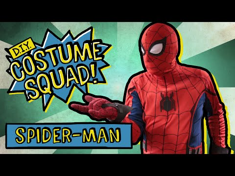 Make Your Own Spider-Man Homecoming Suit - DIY Costume Squad