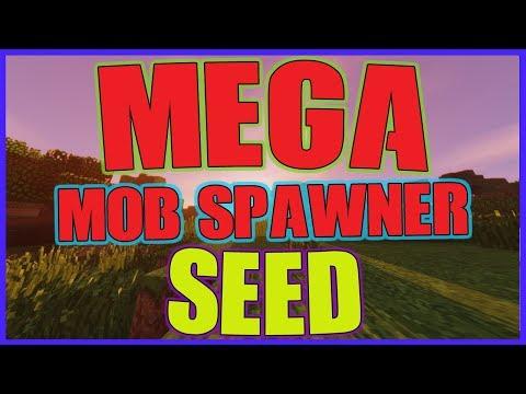 Minecraft Mega Mob Spawner Seed! 6 Mob Spawner At Spawn Best Seeds 1.12