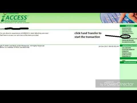 iAccess LandBank Fund Transfer
