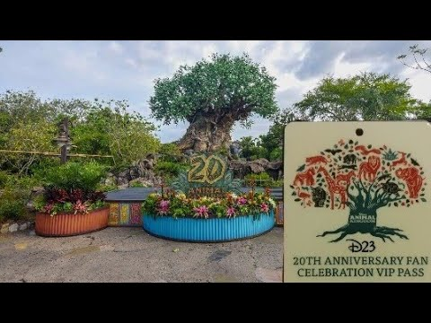 D23 Celebrates Animal Kingdoms 20th Anniversary!