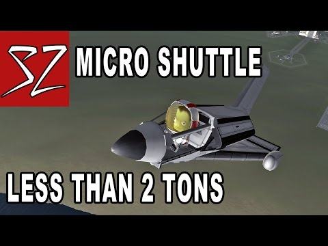 Microshuttle - less than 2 tons orbiter! - Kerbal Space Program