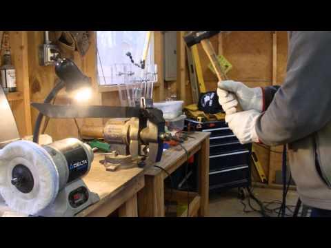 Destruction Testing Mild Steel TIG Welded to Spring Steel