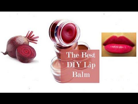 Best 100 % Natural Homemade Lip balm | beetroot lipbalm