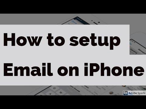 Email on iPhone App Setup (iOS 7,8,9,10)