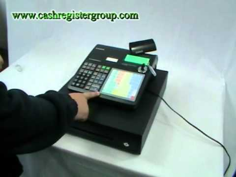 Casio SE-C2000 cash register how to program the product name into the keyboard