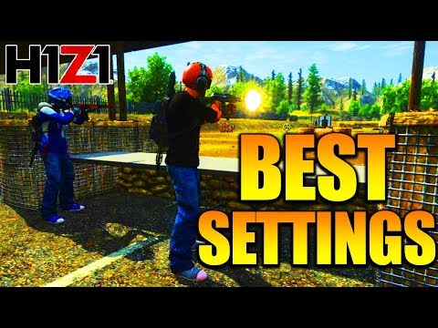 H1Z1 PS4 - BEST H1Z1 SETTINGS PLAYSTATION 4! H1Z1 PLAYSTATION 4 BEST SETTINGS TIPS!