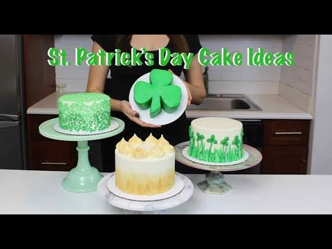 Easy St. Patrick's Day Cakes - Cake Compilation | CHELSWEETS