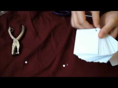 DIY: On the Go Studying Flash Cards