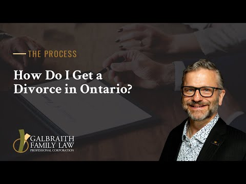 How Do I Get A Divorce In Ontario?