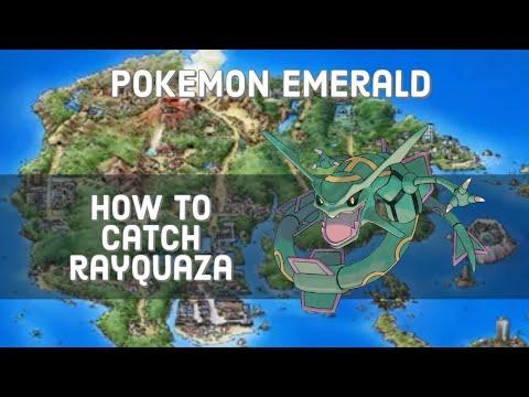 Pokemon Emerald - How to Catch Rayquaza