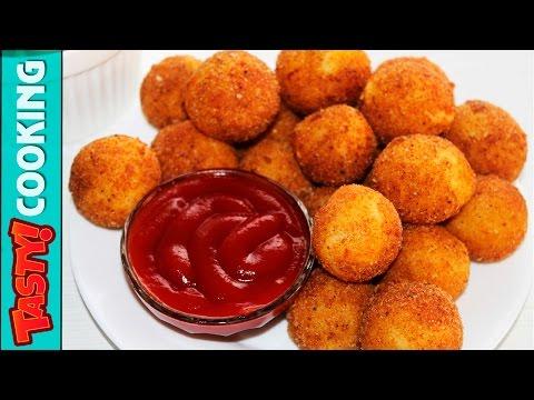 Potato Cheese Balls Recipe ♥ Crunchy Cheese Balls ♥ Tasty Cooking