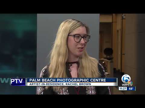 Photographer Rachel Brown at the Palm Beach Photographic Centre